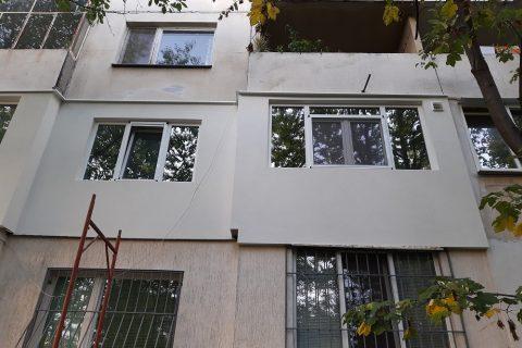 Фасадна реновация на апартамент