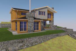 Строителство на еднофамилна къща